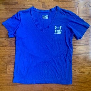 Under Armour Blue Workout Tee
